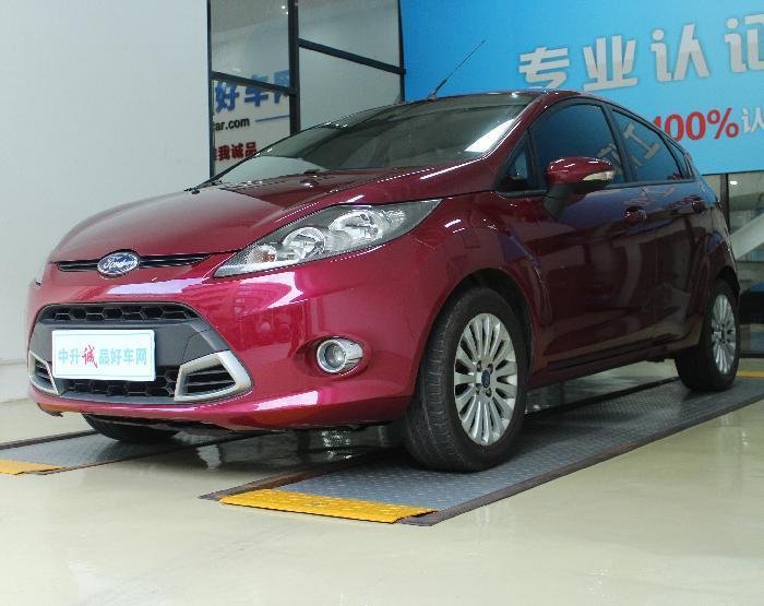 福特嘉年华2012款 两厢 1.5L 自动动感限量版